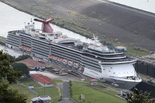 Carnival Ships Transiting The Panama Canal En Route To