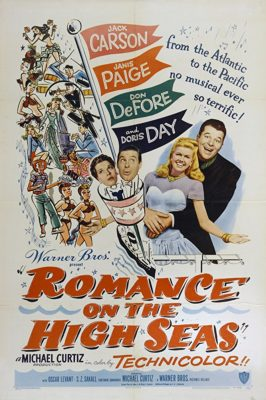 romance on the high seas movie