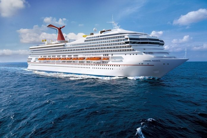 Carnival Radiance to sail from Galveston