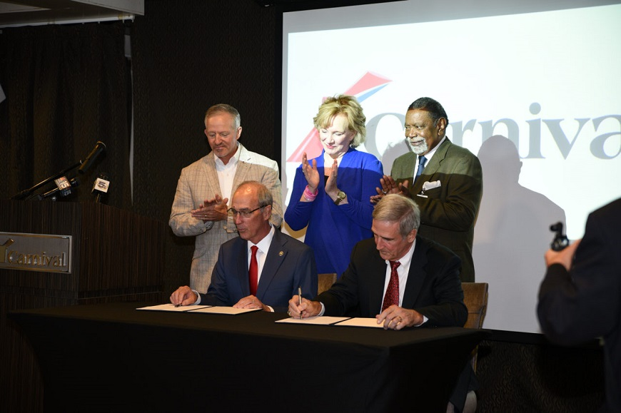 City of Mobile agreement signing